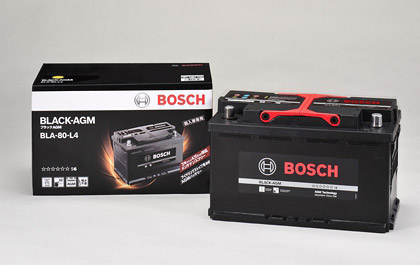 BOSCH Black AGMバッテリー