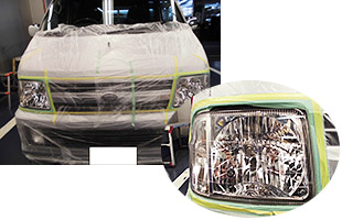 ヘッドライトポリッシュ施工例4