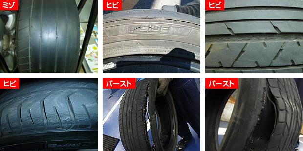タイヤ交換時期の目安