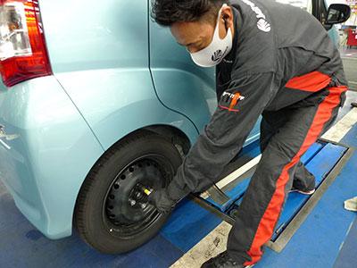 タイヤ交換関連